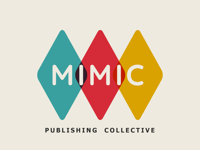 Mimic Publishing Collective Logo branding simple social mimic books game coop collective publishing rgb logo design retro minimal logo