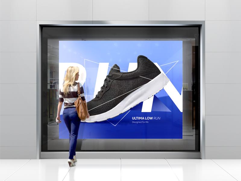 Facade Visualization facade vitrine shop illustration sompositing photoshop cinema4d render visualization