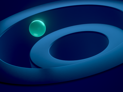 Background Experiments branding cinema 4d renderer redshift green blue sphere render