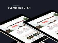 eCommerce UI Kit Web Design #1