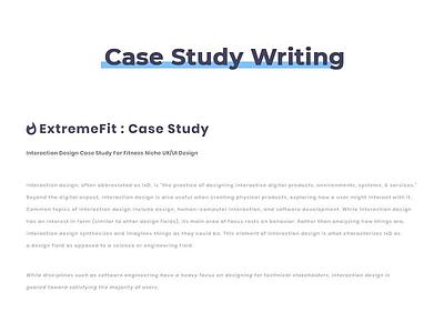 Case Study Interaction Design Project -02 ui kit web design pixel ux ecommerce website concept exploration interface landing page
