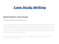 Case Study Interaction Design Project -02