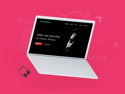 WebGenie Creative MultiPurpose Website Design Case Study -03