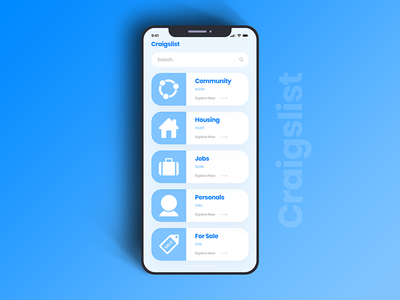 Craigslist iOS Mobile App