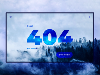 Oops 404 Page : Not Found! 🎨 🖌️ minimal clean not found design ux ui website landing error page 404 oops