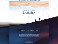Documentary landing page