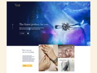 Jewerly butique website