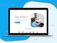 Hiq-home.com Redesign