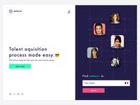 Talent Aquisition Website