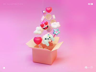 3D illustration-02 blender3d illustration