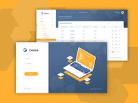 Centra Web UI Design