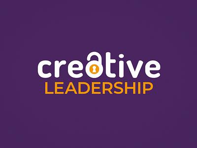 Creative Leadership Conference Logo identity conference creative leadership lock logo branding