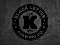 Black Letter Brewing Co.