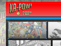KaPow! Pizzeria Website