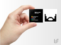 2x2 Personal Business Card