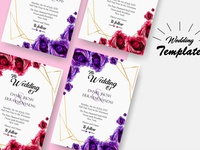 Wedding Template Mockup Free Download