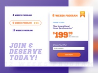 Fitness Pricing Plans
