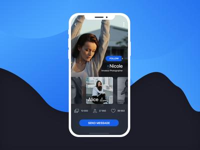 MeetPeople mobile ui design mobile design mobile app ui