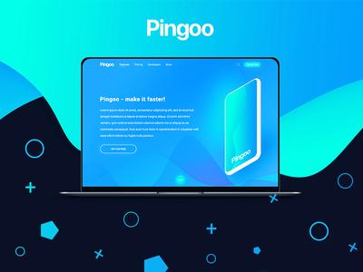 Pingoo web designer ui website web design