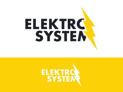 Elektro System logo daily creation logo designer ui designer web designer orange red flame logo logo design logo concept