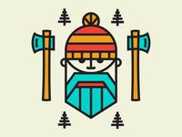 Lumberjack dude