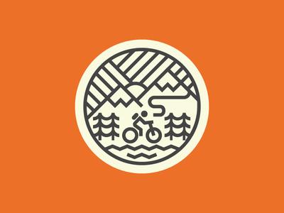 LOTM single track nature trees mountains mountain bike