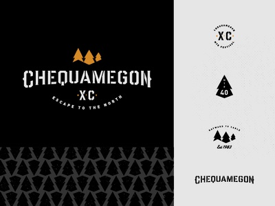 Chequamegon Logo C 40 forest xc race mtb mountainbike woods cheq logo chequamegon