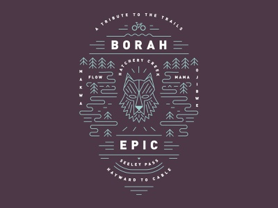 Borah Epic cycle bike woods trails race epic borah wolf mountain bike