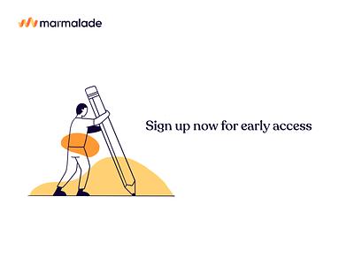 Sign up illustration procreate branding illustration