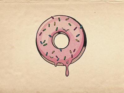 Donut procreate illustration