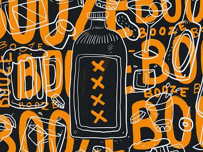 Booze illustration
