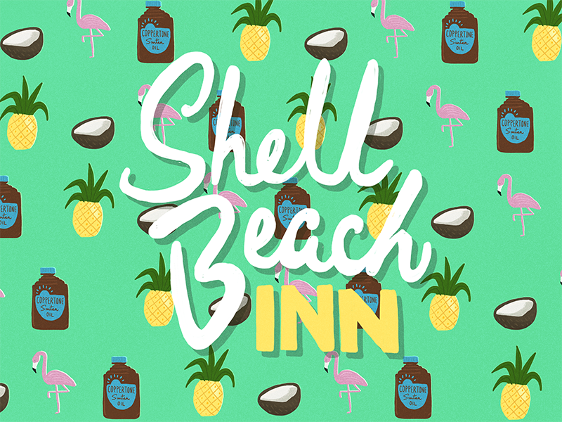 Shell beach inn 1800x600px