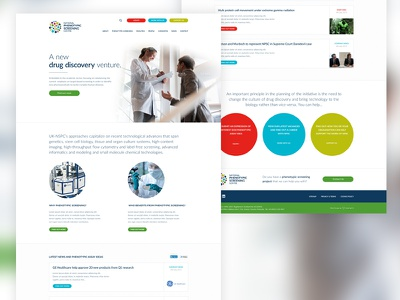Keeping it clean responsive discovery drug lato web design ux ui rwd web website