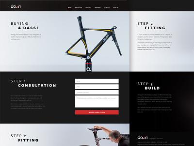 Buying A Dassi process input form luxury cycling bikes dassi ux ui rwd web design website