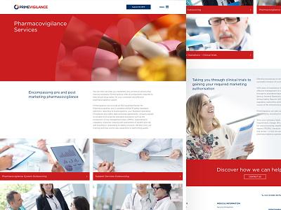 PrimeVigilance – Pharmacovigilance Services branding ux ui responsive web design website