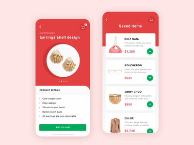 Shopping App - Design Concept shopping app brands fashion fashion shop fashion app onlinestore shopping e-commerce ux online store bright app app  design clear design ui
