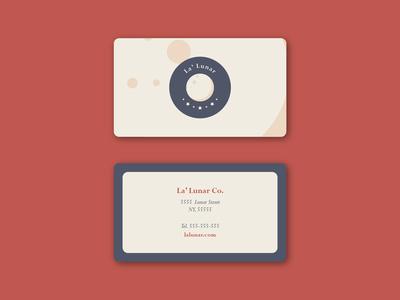 La'Lunar - Business card