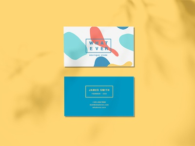 WHATEVER - Business Card