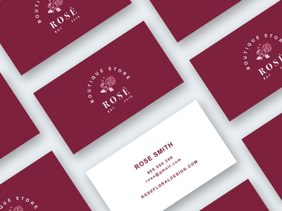 Rose' - Business Card