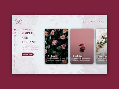 Rose' - Landing Page