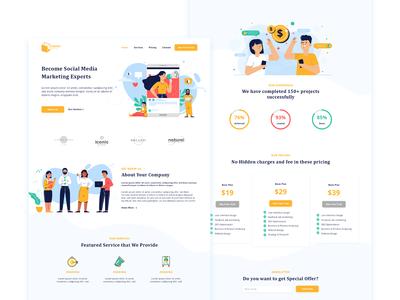 Marketing Agency - Landing Page
