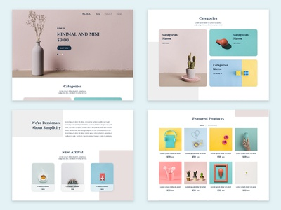 SCALE. - Minimal Web Design