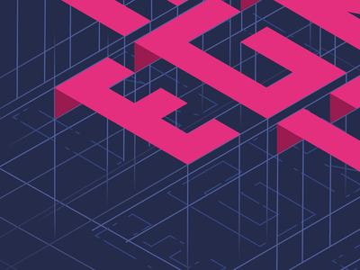 Isometric Poster poster layout text blueprint isometric