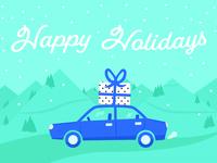 Mighty Ai Holiday Postcard