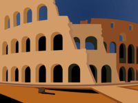 A class project: Colosseum (Up-Close)