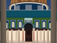 A class project: Dome of The Rock (Up-Close)