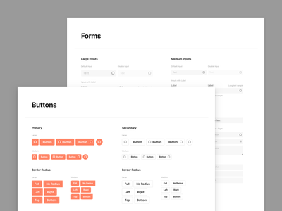 Sections 2.0 – Base Elements styleguide base elements base design system desigsystem adobexd web figma prototyping wireframe ux ui uikit sketch