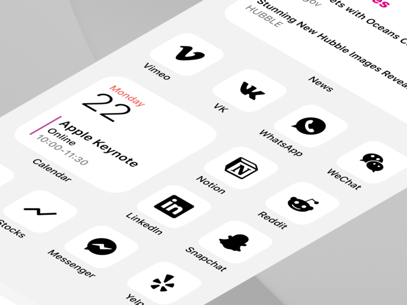iOS 14 Icons Kit - Light Theme ios app design mobile ios app theme sketch figma ios 14 homescreen ios ios 14 ios 14 icons