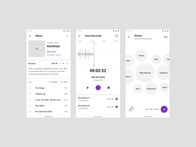 Fragments Android Wireframe Kit flow materialdesign material android design app figma mobile prototyping ux wireframe ui uikit sketch