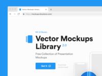 Vector Mockups Library 2.0